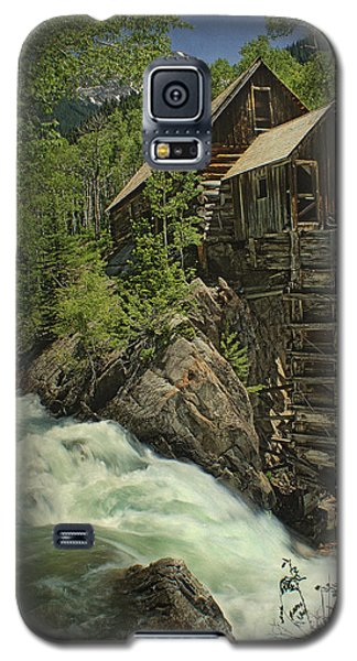 Crystal Mill Galaxy S5 Case by Priscilla Burgers