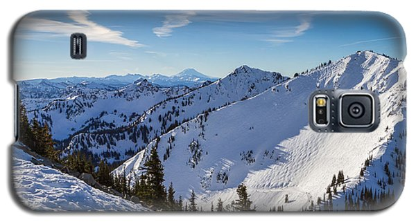 Crystal Mountain And Mt Adams Galaxy S5 Case