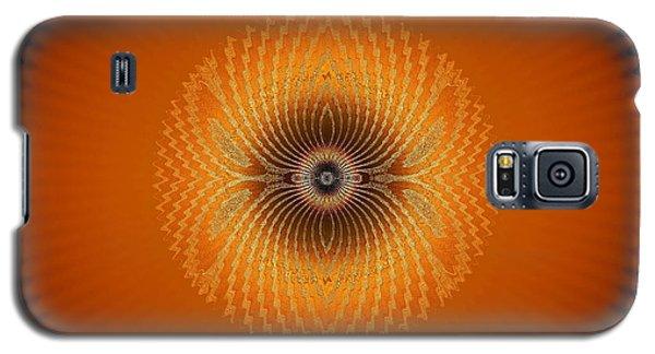 Crystal Orange Galaxy S5 Case