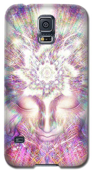 Galaxy S5 Case featuring the painting Crystal Palace by Jalai Lama