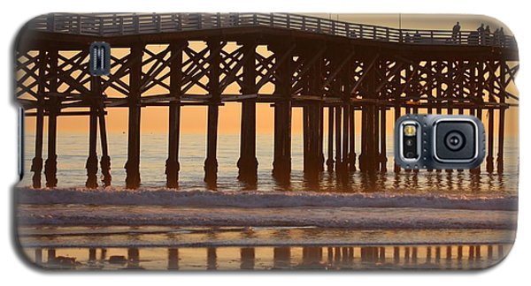 Galaxy S5 Case featuring the photograph Crystal Pier by Nathan Rupert