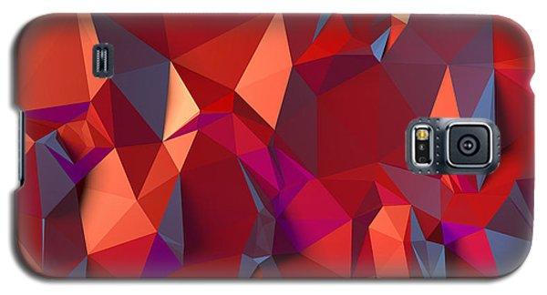 Crystal Volcanic Galaxy S5 Case