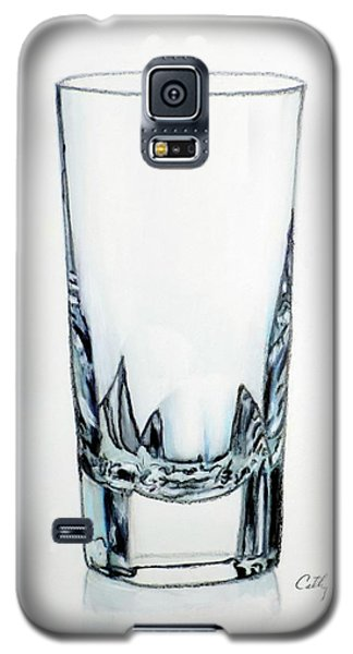 Crystal Water Glass Galaxy S5 Case