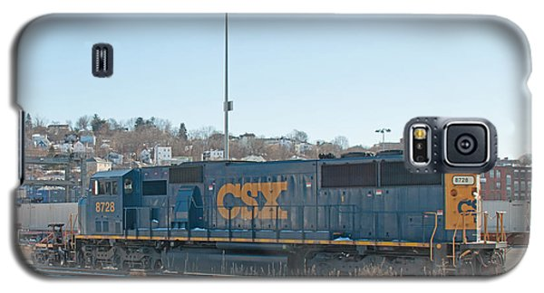 Csx 8728 Worcester Railyard Galaxy S5 Case