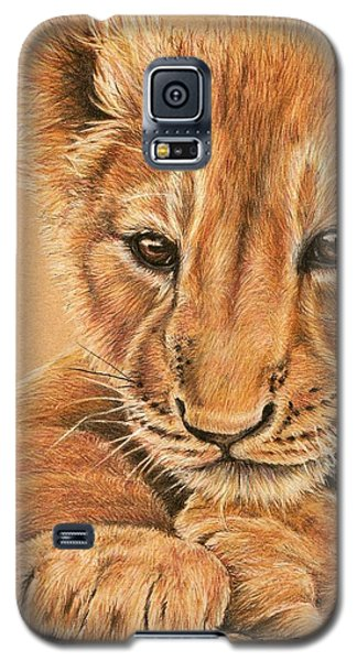 Galaxy S5 Case featuring the drawing cub by Heidi Kriel