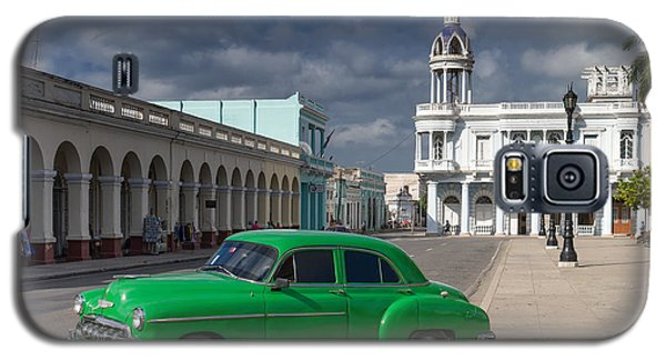 Galaxy S5 Case featuring the photograph Cuba Green  by Juergen Klust
