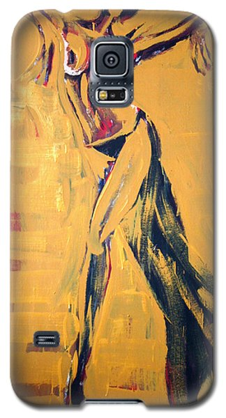 Galaxy S5 Case featuring the painting Cuba Rhythm by Jarmo Korhonen aka Jarko