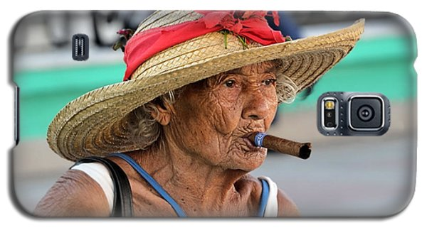 Cuban Lady Galaxy S5 Case by Jola Martysz