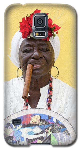 Cuban Lady Two Galaxy S5 Case