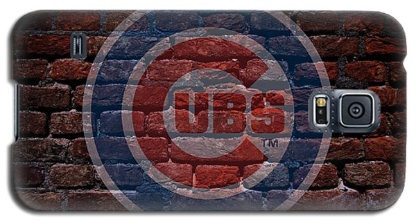 Cubs Baseball Graffiti On Brick  Galaxy S5 Case