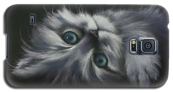 Galaxy S5 Case featuring the drawing Cuddles by Cynthia House