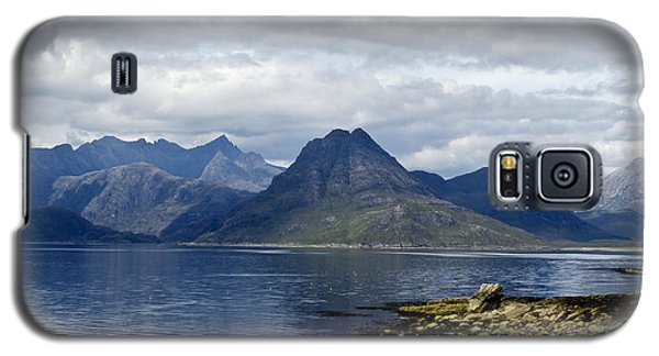 Galaxy S5 Case featuring the photograph Cuillin Hills From Elgol Isle Of Skye by Sally Ross