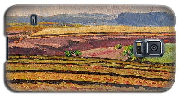 Cultivated Fields Near Ficksburg South Africa Bertram Poole Galaxy S5 Case by Thomas Bertram POOLE