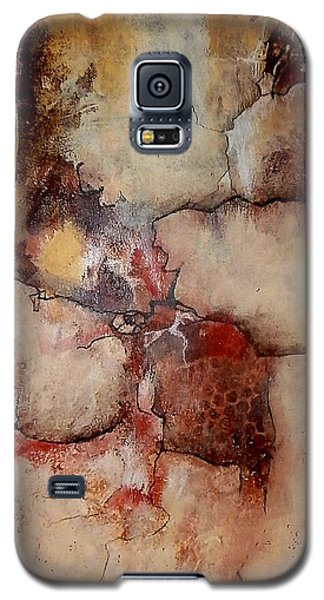 Galaxy S5 Case featuring the painting Culture Wars In The Land Of Plenty by Buck Buchheister