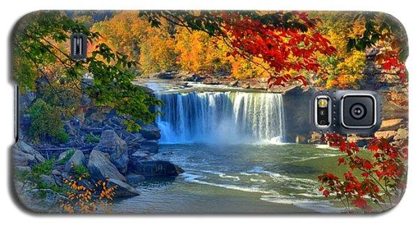 Cumberland Falls In Autumn 2 Galaxy S5 Case