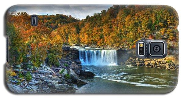 Cumberland Falls In Autumn Galaxy S5 Case
