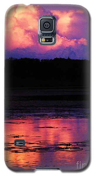 Galaxy S5 Case featuring the photograph Cumulous Squared by Marianne NANA Betts