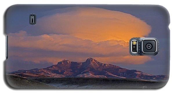 Cumulus Cloud Cap Over Heart Mountain   #2022 Galaxy S5 Case
