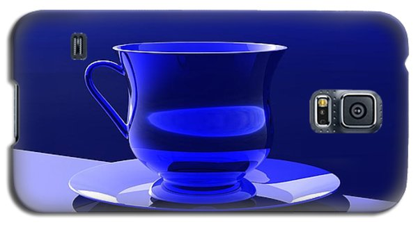 Galaxy S5 Case featuring the digital art Cup And Saucer by John Pangia