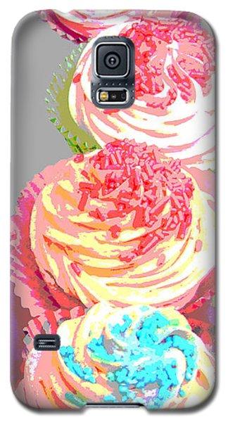 Cupcake Suite Galaxy S5 Case by Beth Saffer