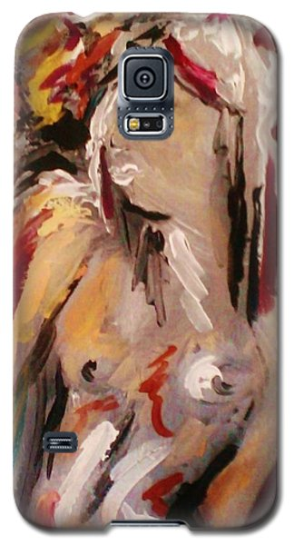 Galaxy S5 Case featuring the painting Cupid by Dawn Fisher