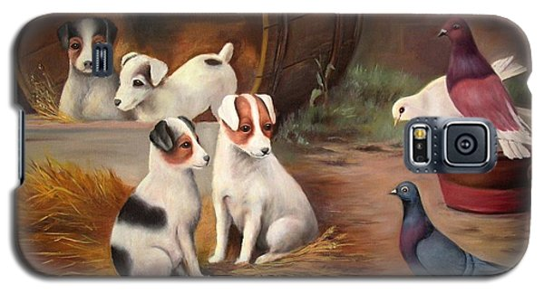 Curious Friends Galaxy S5 Case by Hazel Holland