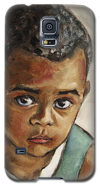 Curious Little Boy Galaxy S5 Case