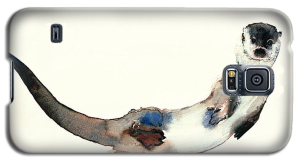 Otter Galaxy S5 Case - Curious Otter by Mark Adlington