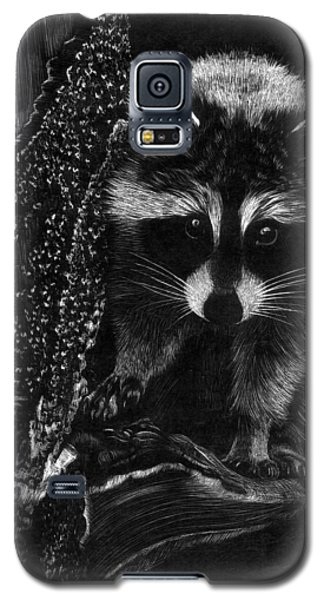 Curious Raccoon Galaxy S5 Case