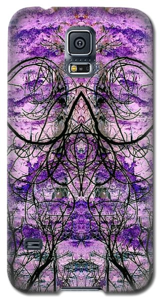 Galaxy S5 Case featuring the photograph Curly Branches by Karen Newell