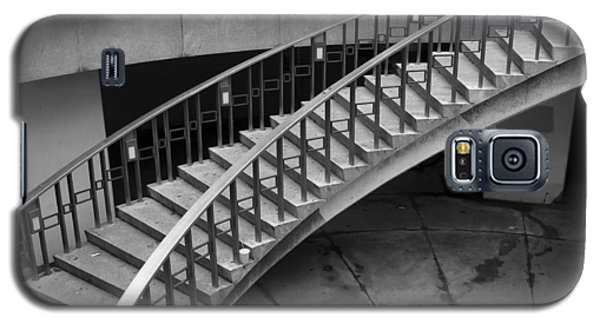 Galaxy S5 Case featuring the photograph Curly Stairway by Dorin Adrian Berbier