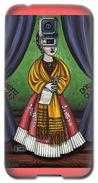 Curtains For Frida Galaxy S5 Case