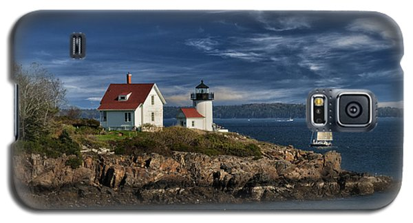 Curtis Island Lighthouse Maine Img 5988 Galaxy S5 Case