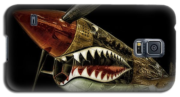 Curtiss P40 Warhawk  ... Galaxy S5 Case by Chuck Caramella