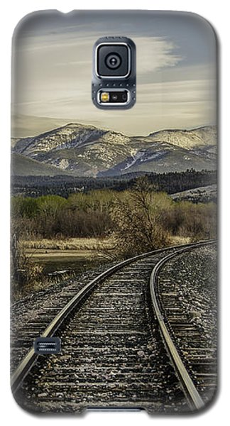 Curve In The Tracks Galaxy S5 Case