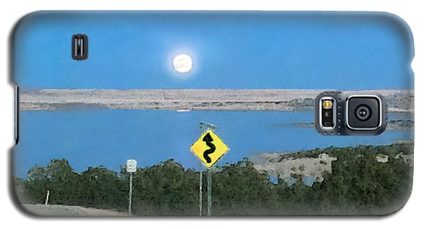Curved Road Ahead-1 Galaxy S5 Case