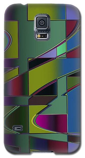 Curves And Trapezoids 3 Galaxy S5 Case