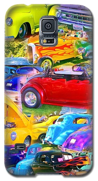 Custom Cars Collage Galaxy S5 Case