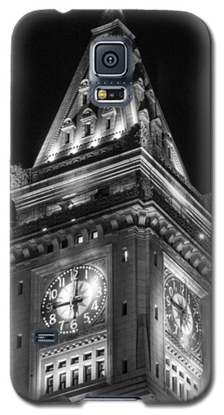 Custom House In Boston Black And White Galaxy S5 Case