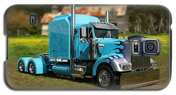 Galaxy S5 Case featuring the photograph Custom Kenworth by Keith Hawley