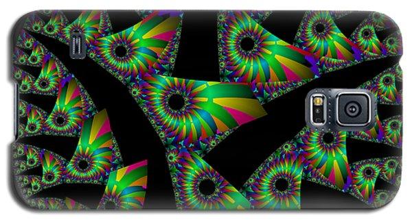 Cut Disk Galaxy S5 Case
