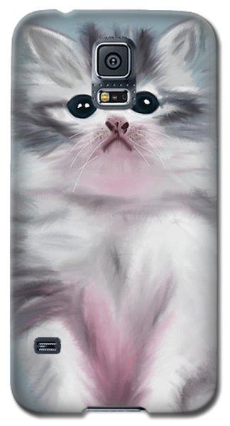 Cute Kitten Galaxy S5 Case