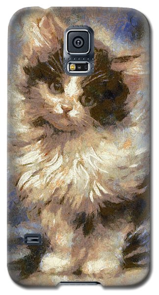 Cute Kitty Galaxy S5 Case