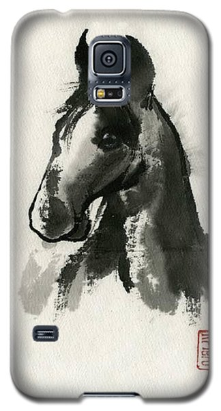 Galaxy S5 Case featuring the painting Cutie by Ping Yan