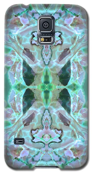 Cyan Fairy Kiss Of Enlightenment Galaxy S5 Case