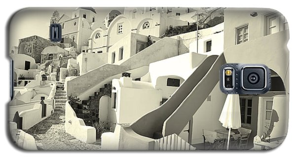 Cycladic Style Houses Galaxy S5 Case by Aiolos Greek Collections