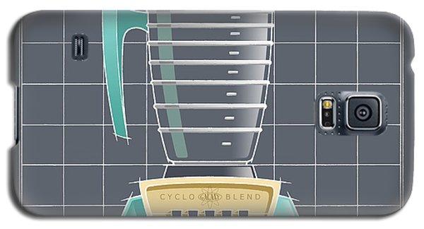 Cyclo-blend - Aqua Galaxy S5 Case