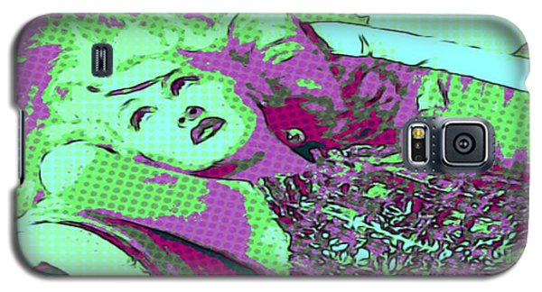 Cyndi Lauper Galaxy S5 Case by Catherine Lott