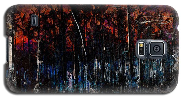 Cypress Swamp Abstract #1 Galaxy S5 Case