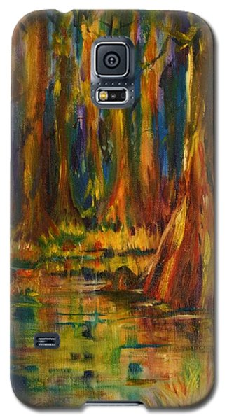 Cypress Trees Galaxy S5 Case